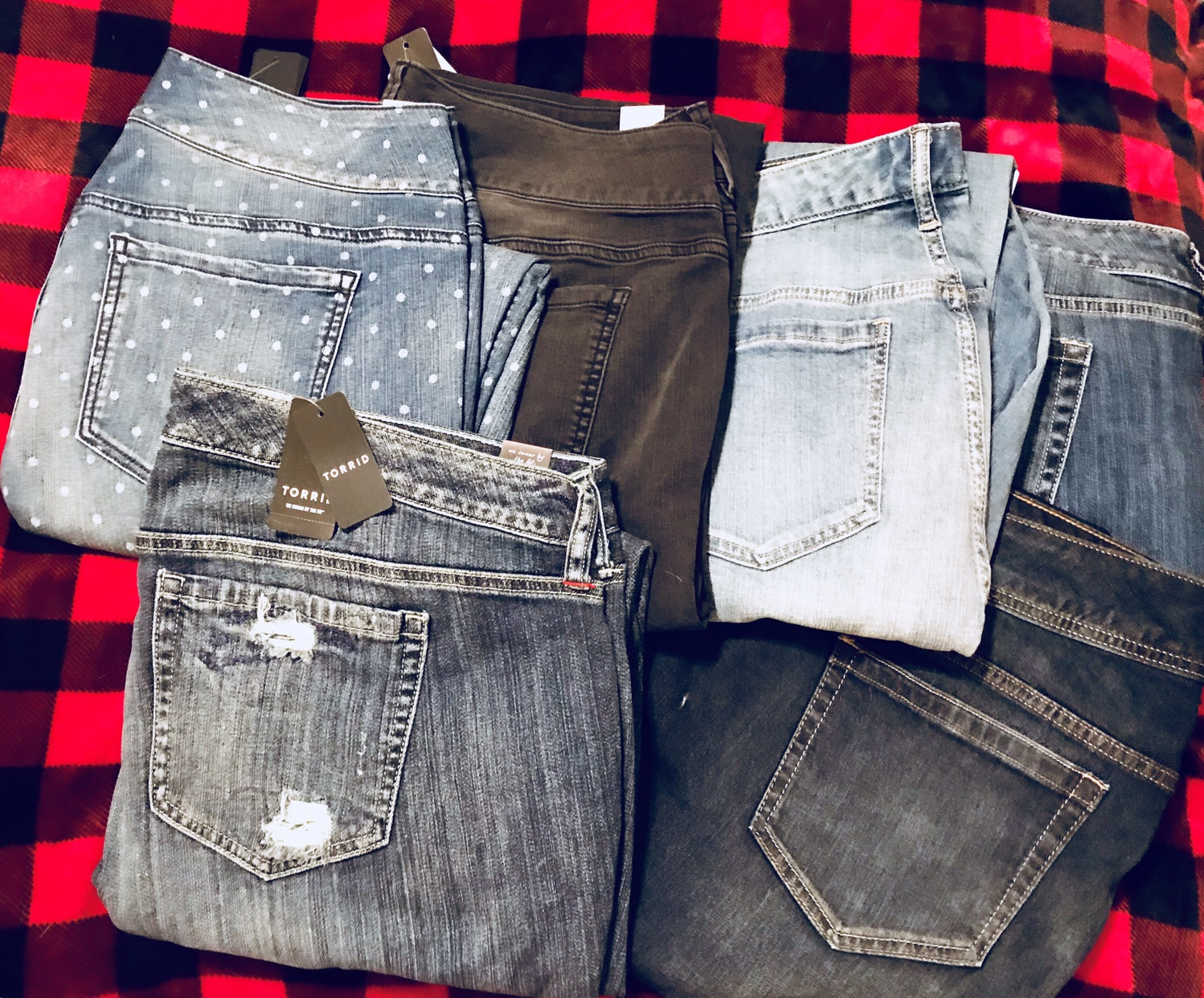 308aca12 I'm an adult woman with polka dot jeans. I'm fairly certain I had a  strikingly similar pair of jeans when I was very much not an ...